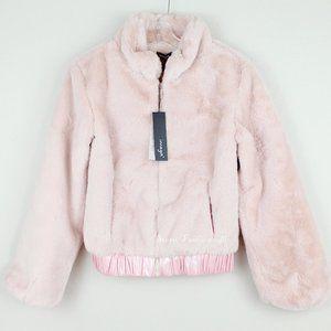 NWT Imoga Girl's Comfy Faux Fur Jacket
